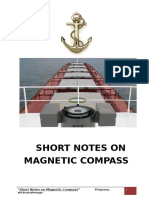 Short Notes on Magnetic Compass