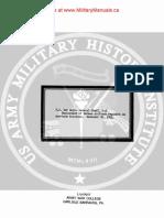 1941 US Army WWII German Antitank Reg. NonTask Missions