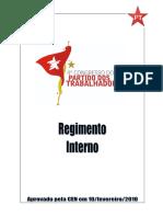 Regimento 4 Congresso Nacional Do PT - 2010