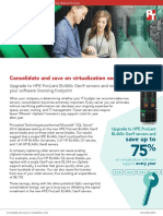 Consolidate and save on virtualization costs