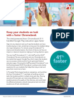 Keep your students on task with a faster Chromebook