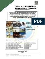 PROYECTO FINAL DE IMPLEMENTACIÓN DE LA UNFSC OCA HUARI
