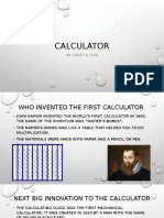 calculator power point