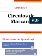 taxonomia circulos del aprendizaje de Marzano
