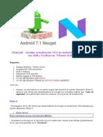 """[Tutorial] – Instalar actualización OTA de Android 7.1.1 en Nexus 6 con ADB y Fastboot en """"Ubunt"""