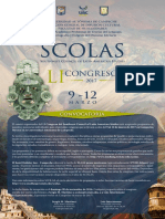 2017 Scolas Convocatoria 1