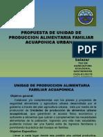 Propuesta de Unidad de Produccion de Alimentos Urbana