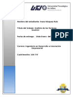 Analisis de Los Factores(Matriz)