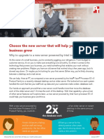 Choose the new server that will help your small business grow