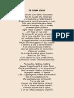 Savonarola Rime