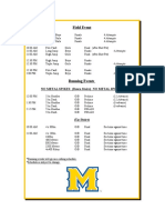 McNeese Indoor II Schedule