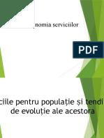 Economia serviciilor - Proiect