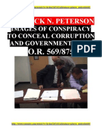 Crushing U.S. CORRUPTION - Jack N. Peterson & Crooked Judge C. E. Honeywell