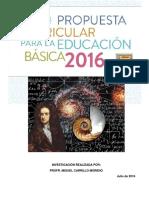 Nuevos Programas de Matematicas Primaria 2016