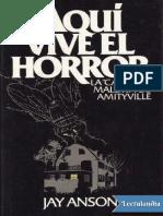 Aqui Vive El Horror - Jay Anson