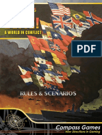 World in Flames Blitz Rules
