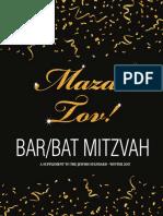 Bar and Bat Mitzvah, 2017