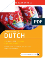 Spoken World Dutch a Complete Course for Beginners