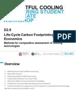 Life CycleCarbonFootprintingandEconomics