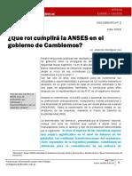 ¿Qué rol cumplirá la ANSES en el gobierno de Cambiemos?