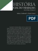 CHALHOUB FONTES Hist Social Do Trabaho 8.Perseu4.Chalhoubfontes.historia