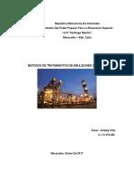 Métodos de Tratamiento de Emulsiones Quimicos
