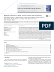 Biodiesel Production in Brazil Current Scenario and Perspectives
