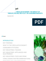 The Global Circular Economy the Impact of Reduce Re-use Recycle on Consumer Markets