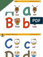 Alphabet Flashcards 1