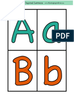 Alphabet Flashcards 2