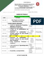 3.- Agenda CTZ Cuarta Sesión Ordinaria 16-17