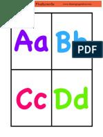 Alphabet Flashcards 3