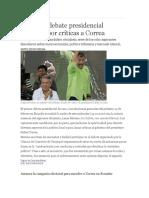 Ecuador Debate Presidencial 2016