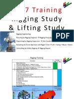 Rigging Study Lifting Study - 2017 HaGun Training+