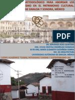 Planteamiento Metodologico Para Abordar Los Efectos Del Turismo en El Patrimonio Cultural. Pueblos Magicos de Sinaloa y Sonora, Mexico