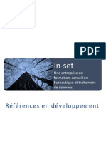 In-set References En Developpement 2008