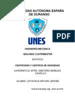 Arturo Jerome Leyva Ruiz Ing.mecanica TI 1 Estatica 29 Enero