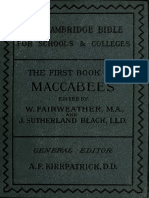 The Cambridge Bible for Schools and Colleges - The First Book of Maccabees