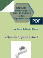 Introd. Al SGC. La Q y Las Org.