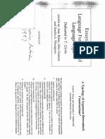 Dixon & Aikhenvald 1997- A Tipology of Argument-Determined Constructions