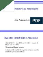 Abella - Casos de Registración