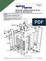 Instalación Operación y Mantenimiento de Los Tanques de Alimentación-Información de Aplicaciones
