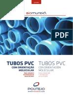 Catalogo Tecnico Comercial de Tubos PVC O Biomundial