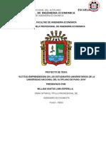 Facultad de Ingeniería Económica