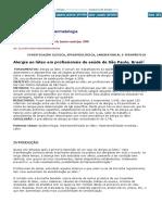Anais Brasileiros de Dermatologia
