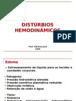 9 - DISTÚRBIOS HEMODINÂMICOS