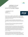 Bustamante Alsina, j., Resp Civil Por Violación Del Derecho a Preservar La Propia Imagen