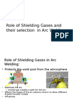 Shielding Gases for Welding