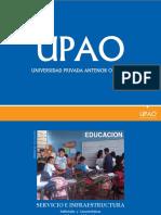 Educacion Servicios Infraestructura