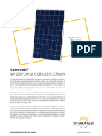 Solarworld SW200-225 Poly